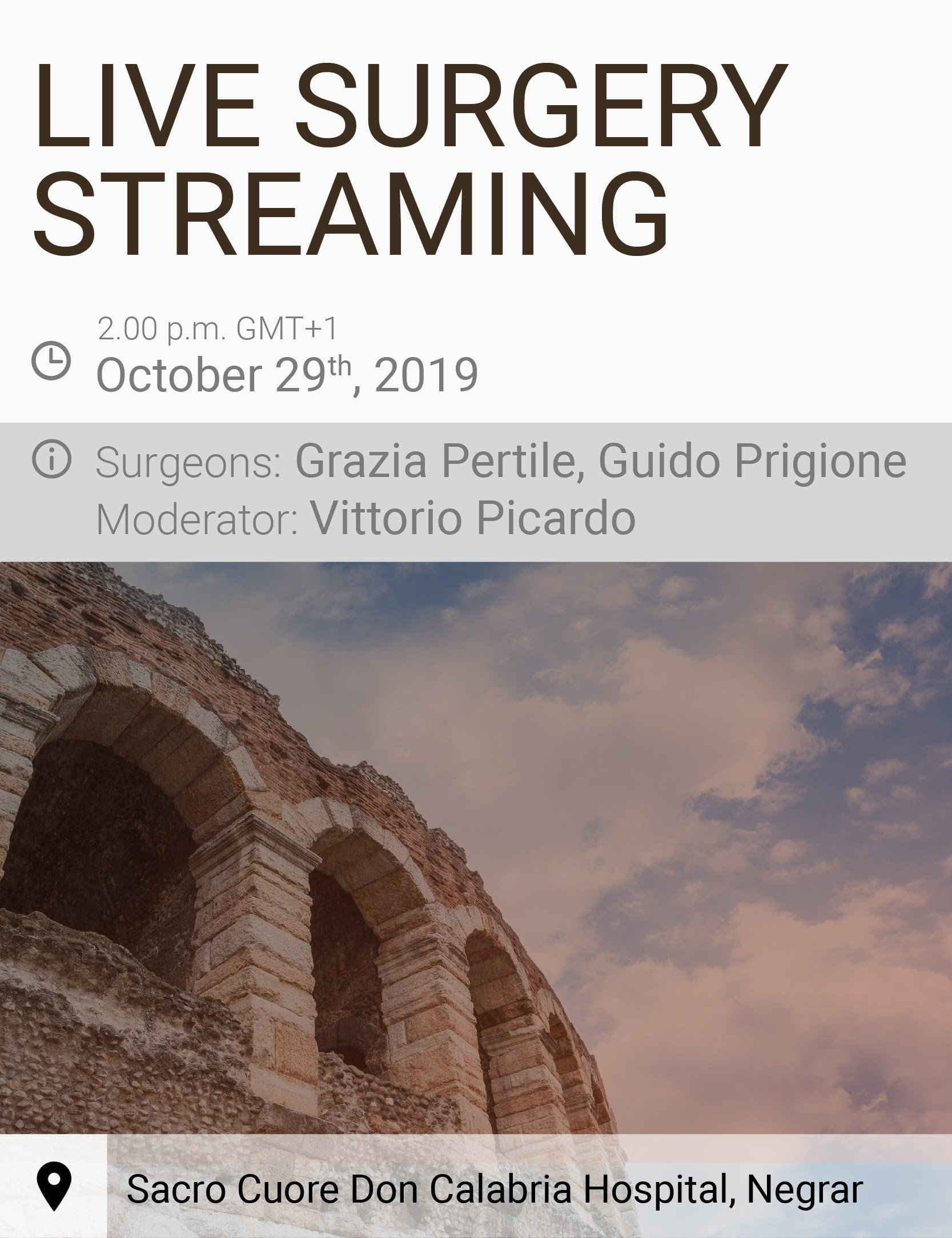 floretina live surgery streaming october 2019